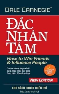 download cuốn sách Đắc nhân tâm của Dale Carnegie tại Sách mới.net