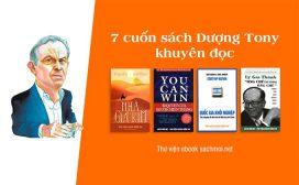 7 cuốn sách Dượng Tony khuyên bạn trẻ nên đọc