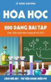 200 dạng bài tập hóa học chắc chắn có trong đề thi