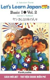 Giáo trình Let's Learn Japanese - Yan to nihon no hitobito