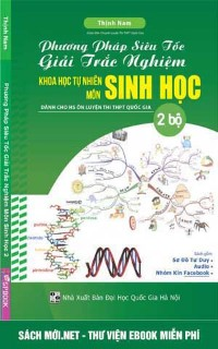 Tải sách Phương pháp siêu tốc giải trắc nghiệm Sinh học PDF