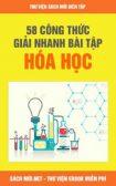 Tải 58 Công Thức Giải Nhanh Bài Tập Hóa Học Cực Hay PDF