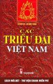 Tải ebook Các Triều Đại Việt Nam PDF/PRC/EPUB/MOBI