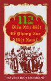 Download sách 112 Điều Nên Biết Về Phong Tục Việt Nam PDF/PRC/EPUB/MOBI/AZW3