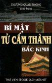Download sách Bí Mật Tử Cấm Thành Bắc Kinh PDF/PRC/EPUB/MOBI/AZW3